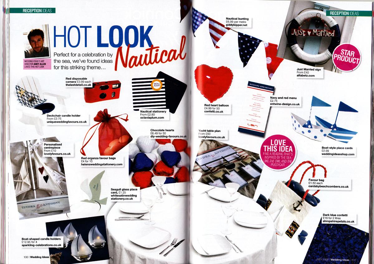 Best Nautical Theme Wedding Ideas Photos - Styles & Ideas 2018 ...